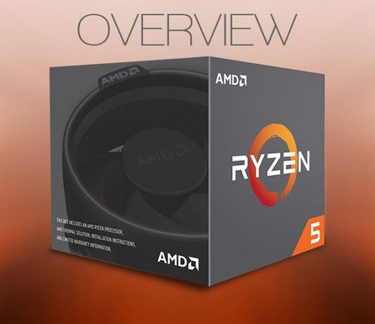 AMD ryzen 5 overview