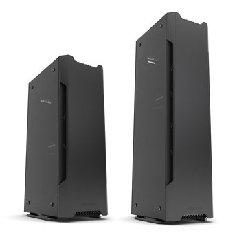 image of Enthoo Evolv Shift and Enthoo Evolv Shift x compared side by side
