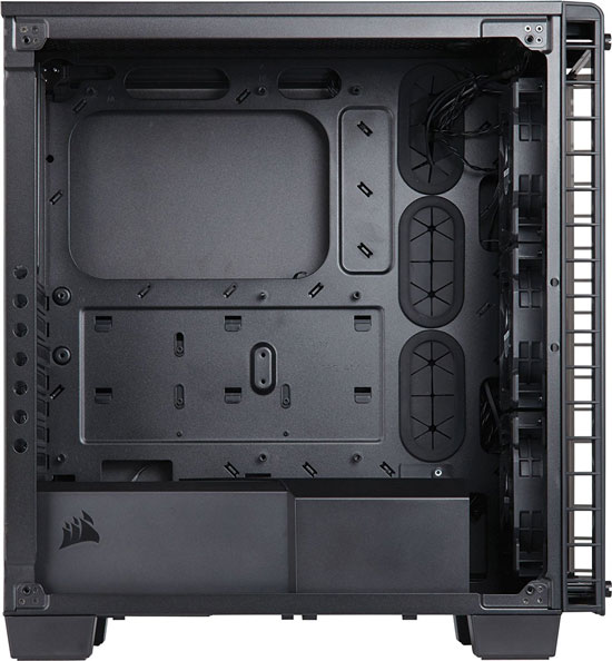 image showing inside of the PC case