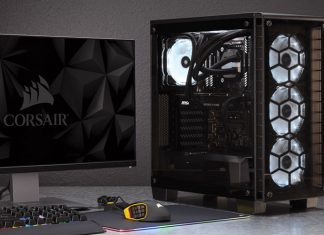 Corsair's Crystal Series 460X RGB setup
