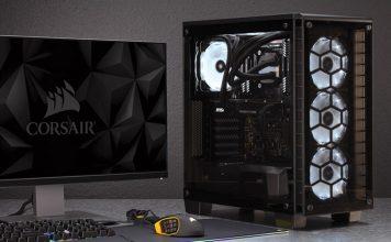 Corsair's Crystal Series 460X RGB setup