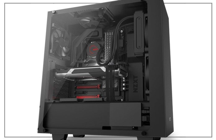 NZXT S340 Elite ATX Mid Tower Computer Case product image