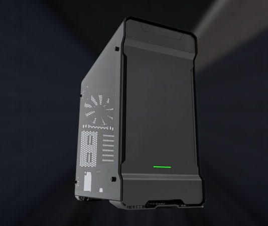 Phanteks Enthoo Evolv ATX Tempered Glass product image on dark background