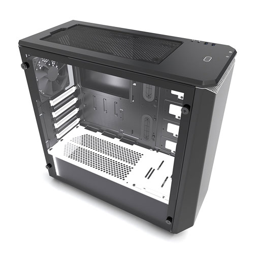 image of the black and white version of the ECLIPSE P400 Tempered glass