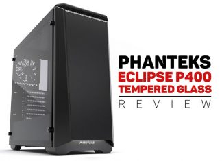 overview of the ECLIPSE P400 Tempered glass made by Phanteks