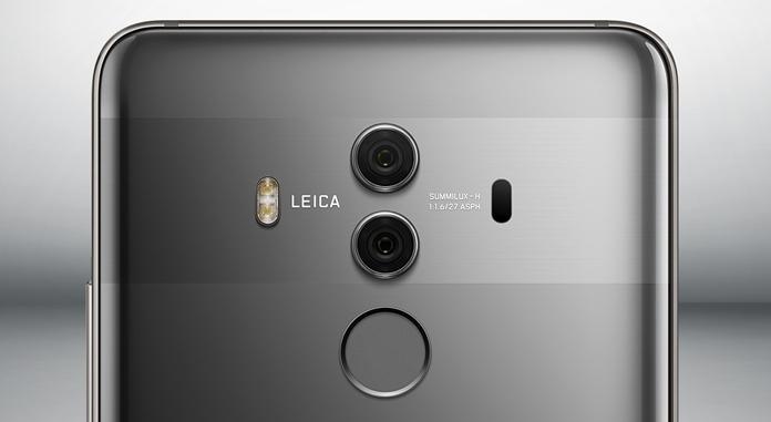 Huawei Mate 10 Pro back closeup image