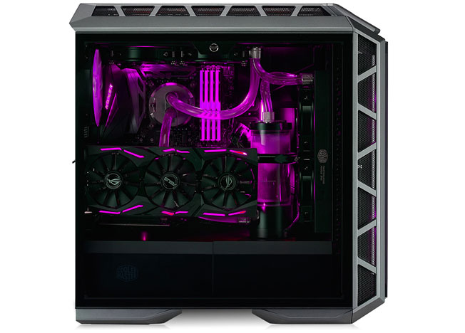 Mastercase h500p side view
