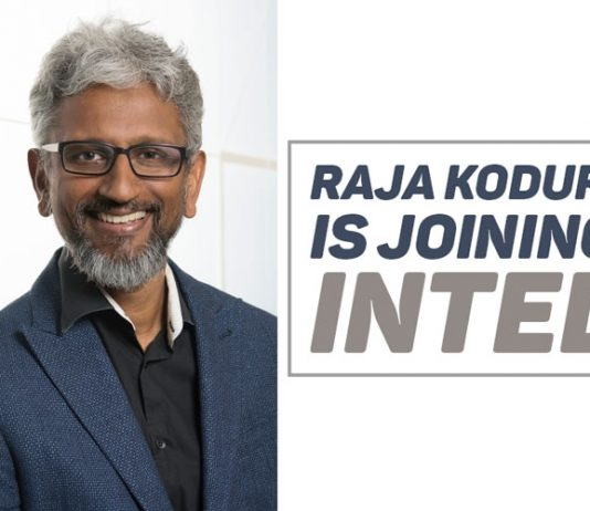 Raja Koduri is Joining Intel