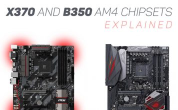 X370 and B350 AM4 Chipset Explained