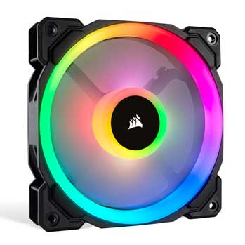 image showing CORSAIR LL SERIES RGB Fan