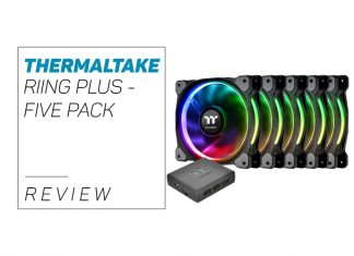our Thermaltake Riing Plus - Five Pack overview