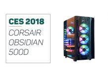 Corsair Obsidian 500D presented on CES 2018