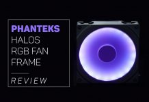 our Phanteks Halos RGB Fan Frame overview