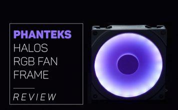 our Phanteks Halos RGB Fan Frame overview