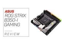 Our Asus Rog Strix B350-I Review