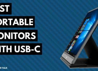 Top rated portable (travel) monitors with usb-c