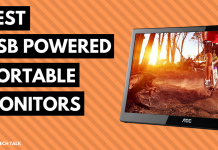 top rated usb powered travel monitors