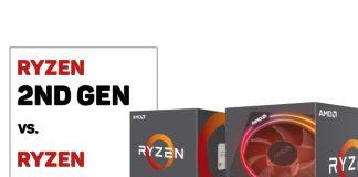 2nd gen. vs. 1st gen of Ryzen Compared