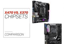 X470 and X370 Chipsets compared