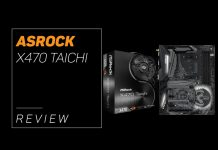 our overview of the X470 Taichi by ASROCK