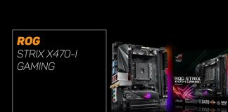 overview of the ROG Strix X470-I Gaming