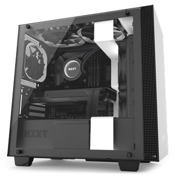 product image of the NZXT H400i Micro-ATX