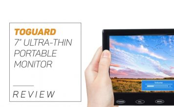 7 Inch Ultra-thin monitor by Toguard reviewed