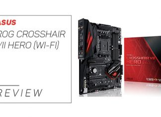 Our in depth ASUS ROG CROSSHAIR VII HERO (WI-FI) review