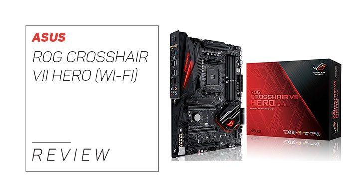 Our in depth ASUS ROG CROSSHAIR VII HERO (WI-FI) review