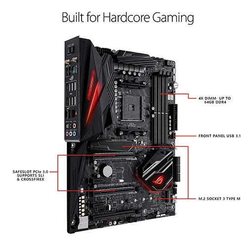 Product image of ROG CROSSHAIR VII HERO (WI-FI)