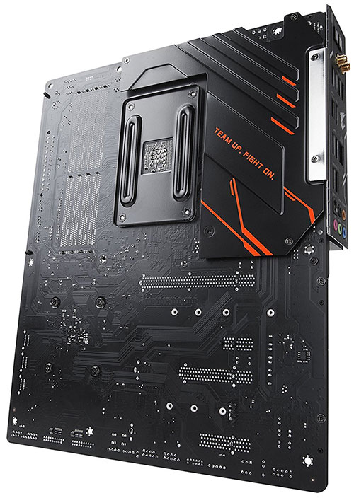 product X470 AORUS GAMING 7 WIFI on white background