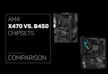 AM4 X470 vs B450 Chipsets comparison
