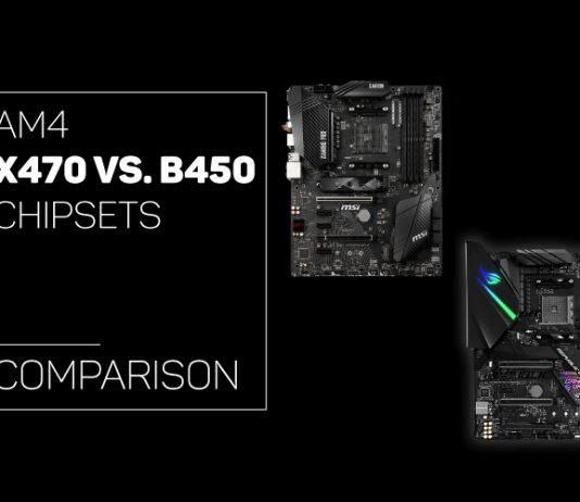 AM4 X470 vs B450 Chipsets comparison