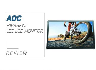 AOC E1649FWU LED LCD Monitor