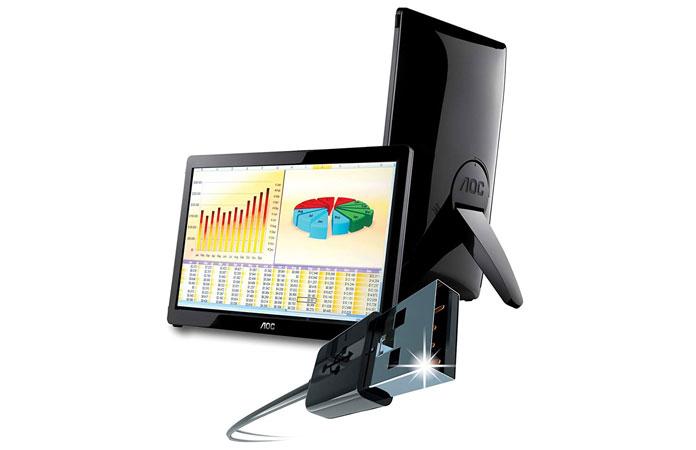 AOC E1649FWU LED LCD Monitor product image