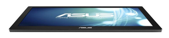 ASUS MB168B bottom view