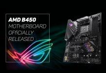 AMD B450 Motherboard released