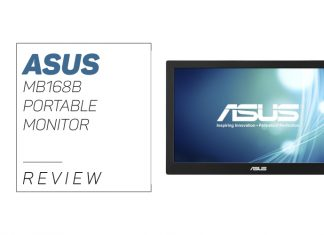 overview of the ASUS MB168B Portable Monitor