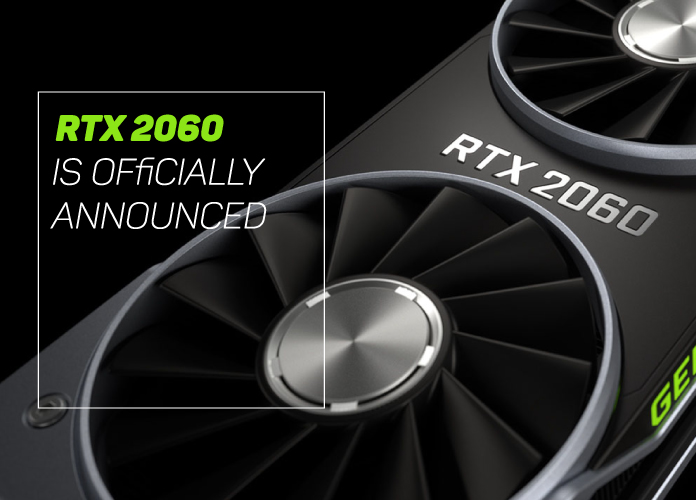 RTX 2060 announced at CES 2019